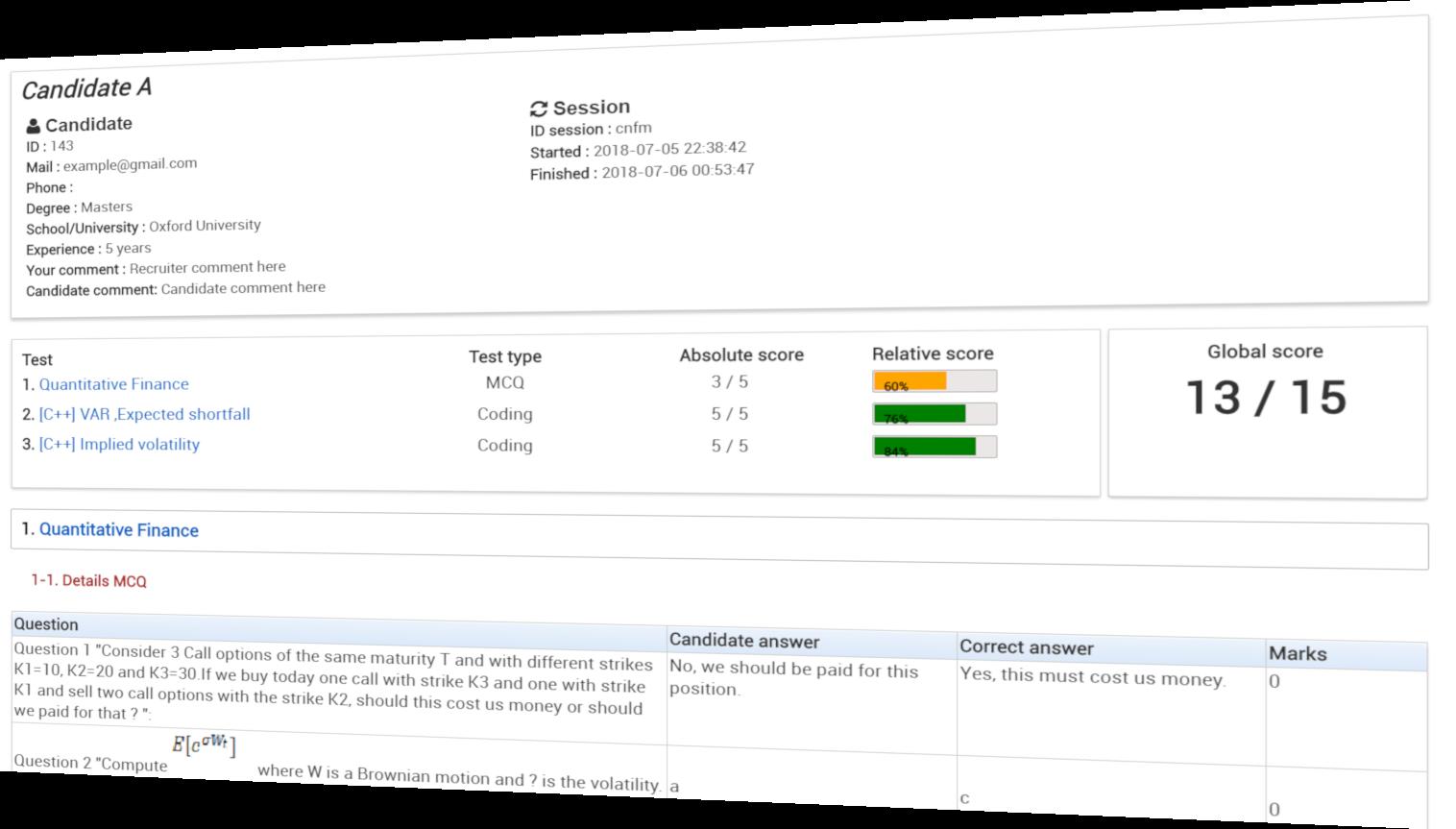 Tests pour évaluer vos développeurs Java,  Net, C